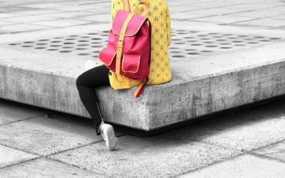 Un sac à dos adapté pour éviter le mal de dos