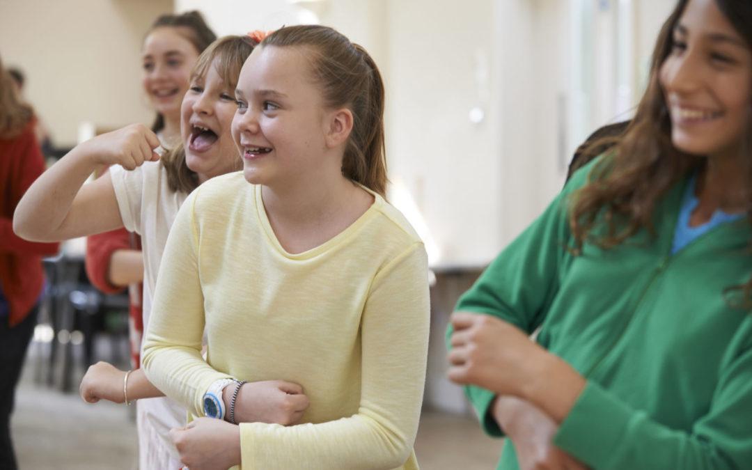 Danse de module hebdomadaire à l'école du Touret