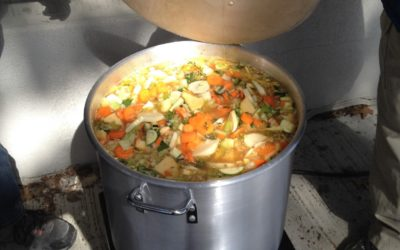 La soupe aux légumes collective des écoles Champlain et St-Antoine
