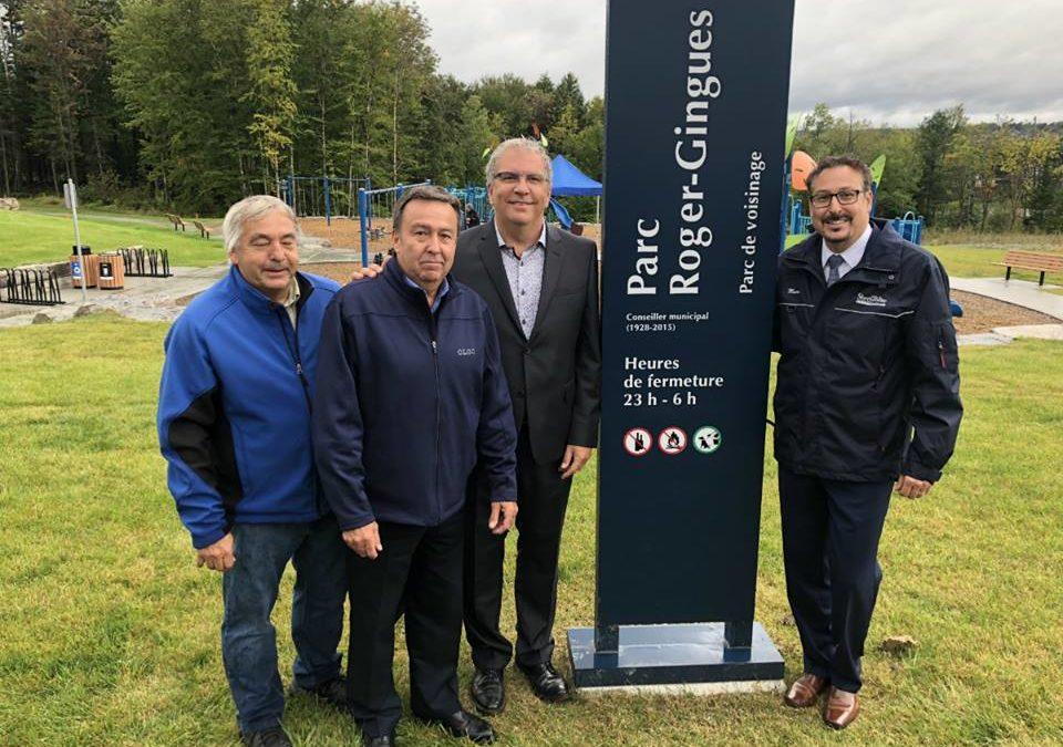 Deux nouveaux parcs à Sherbrooke