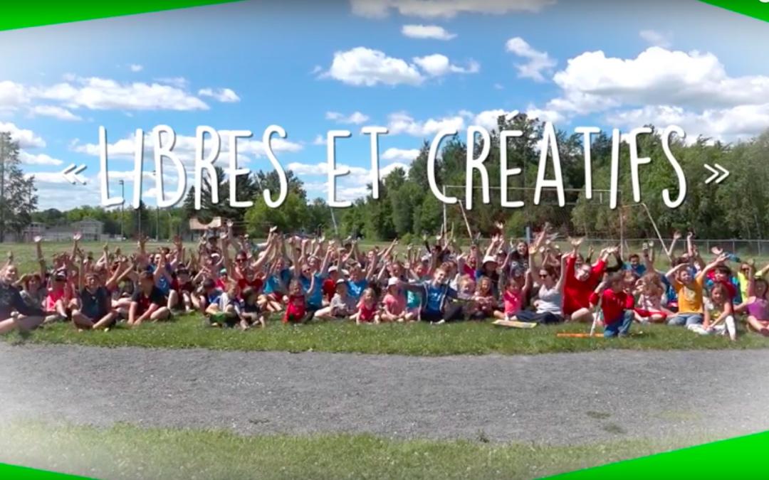 camp libres créatif