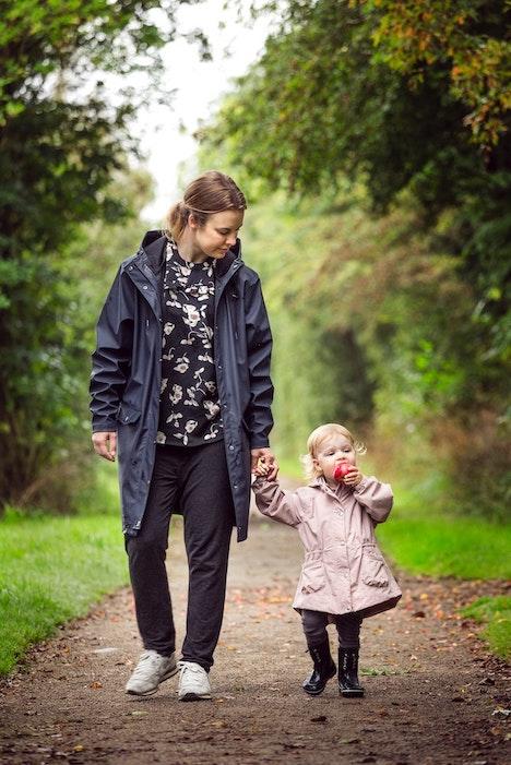 famille marche nature